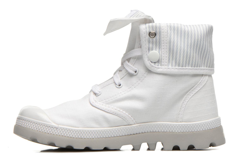 Sneaker Palladium Baggy lite kid weiß ansicht von vorne