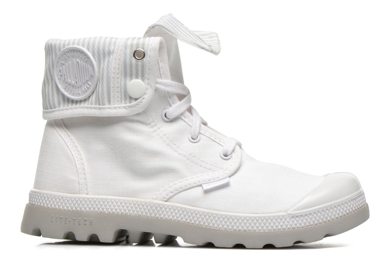 Sneakers Palladium Baggy lite kid Vit bild från baksidan