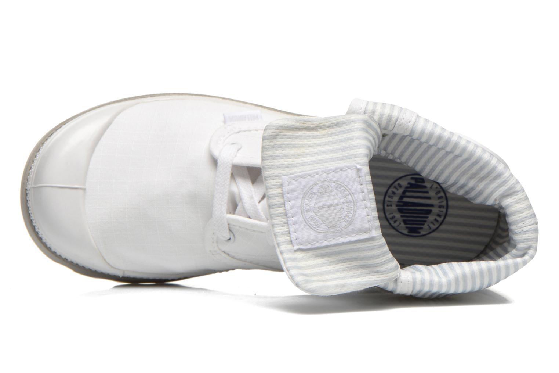 Sneakers Palladium Baggy lite kid Vit bild från vänster sidan