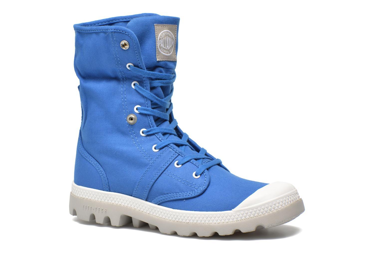 Sneakers Palladium Baggy lit spo k Blå 3/4 billede