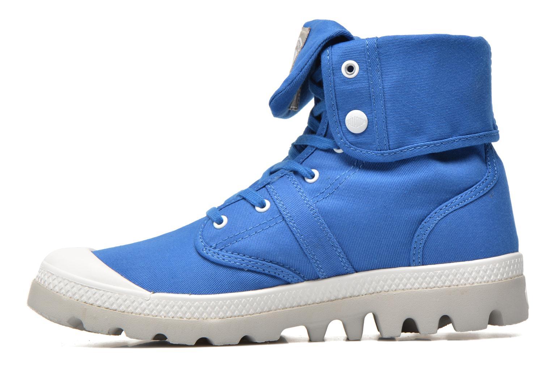 Sneakers Palladium Baggy lit spo k Blå se forfra