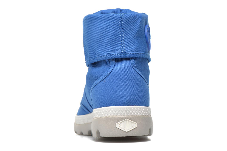 Sneakers Palladium Baggy lit spo k Blå Se fra højre