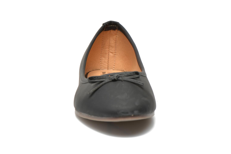 Ballet pumps I Love Shoes Suflatine Black model view