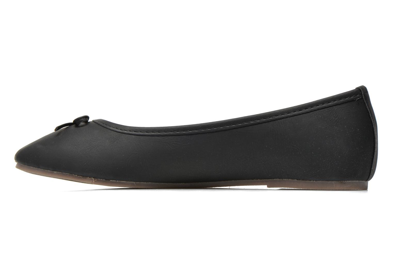 Ballet pumps I Love Shoes Suflatine Black front view