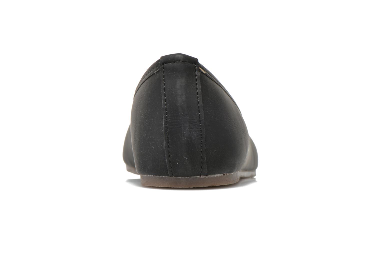 Ballerinas I Love Shoes Suflatine schwarz ansicht von rechts