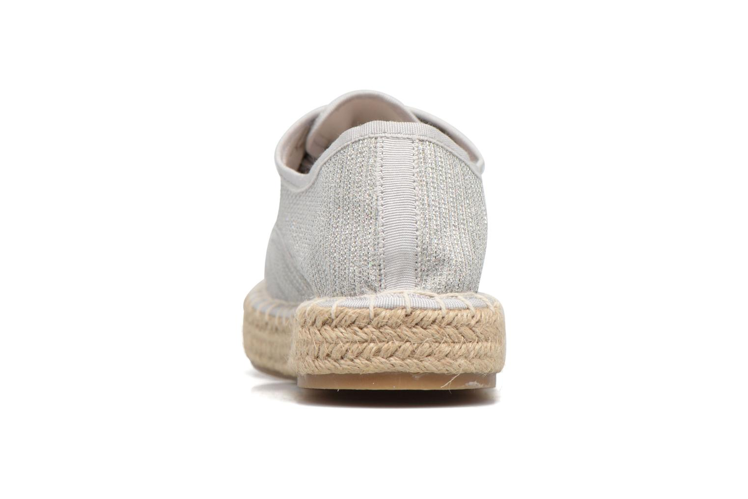 Espadrilles I Love Shoes Surmino Silver view from the right