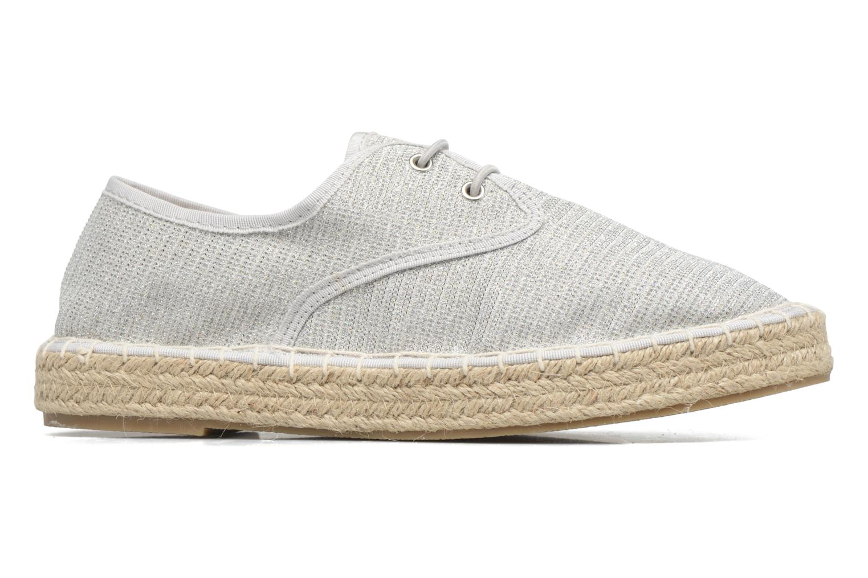 Espadrilles I Love Shoes Surmino Silver back view