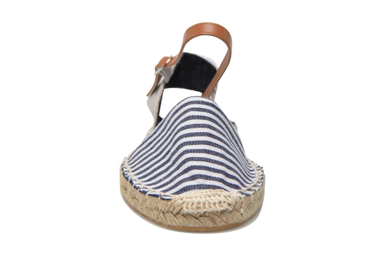 Sandales et nu-pieds I Love Shoes Supik Bleu vue portées chaussures