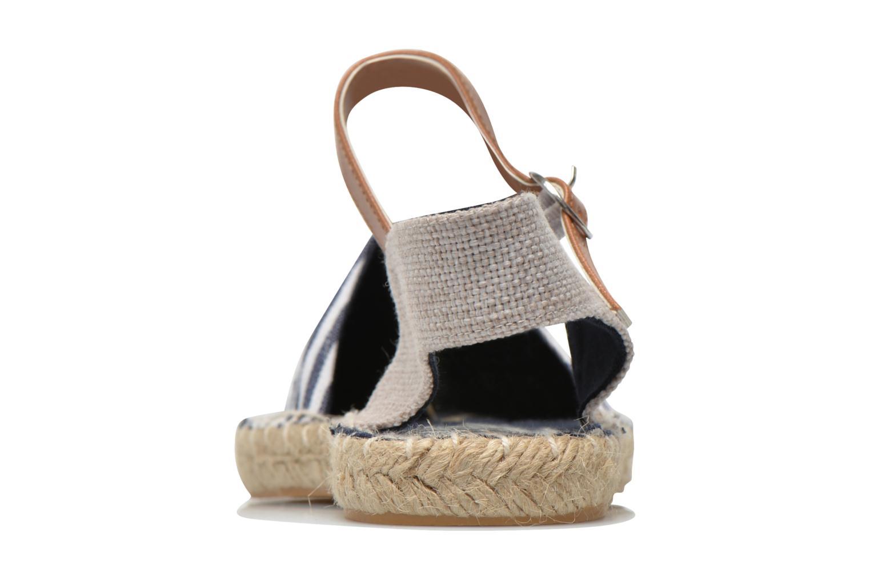 Sandales et nu-pieds I Love Shoes Supik Bleu vue droite