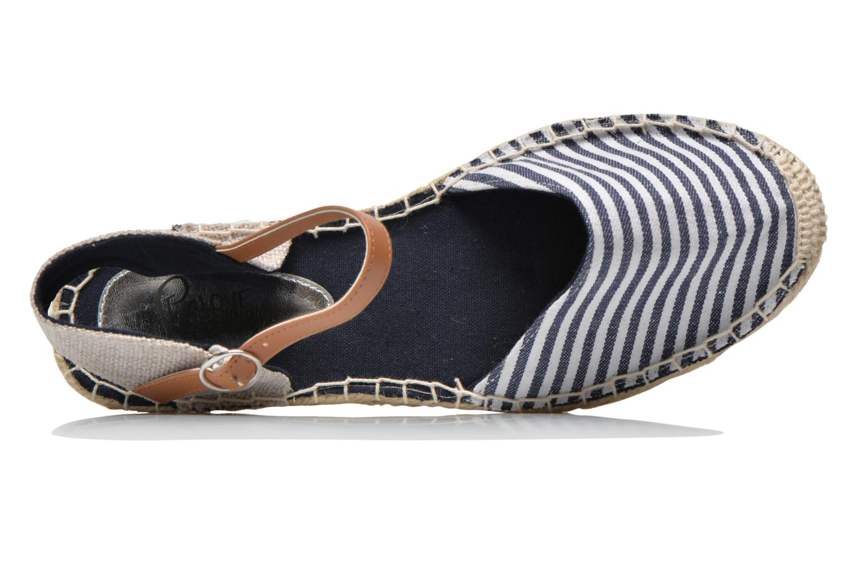 Sandales et nu-pieds I Love Shoes Supik Bleu vue gauche