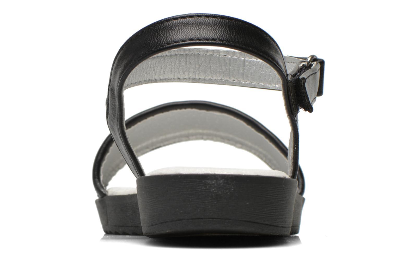 Sandales et nu-pieds I Love Shoes Supaillettes Noir vue droite