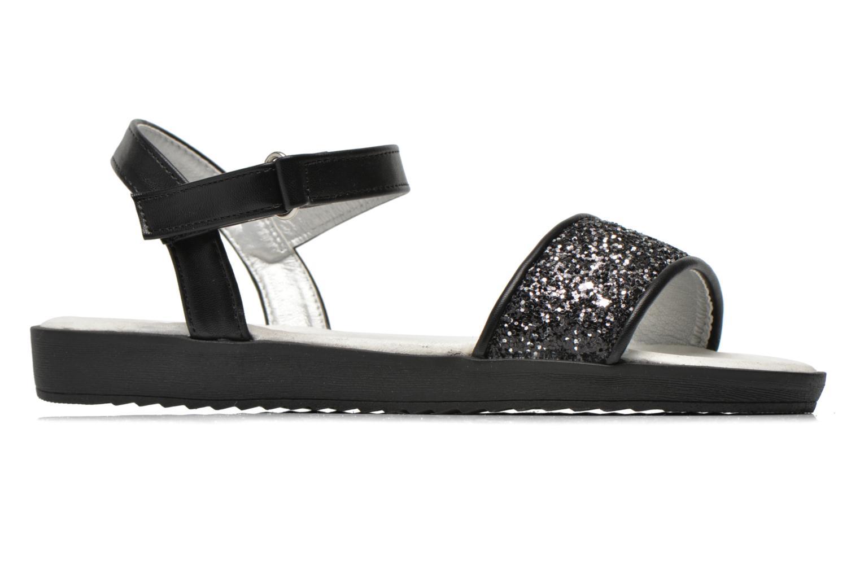 Sandales et nu-pieds I Love Shoes Supaillettes Noir vue derrière