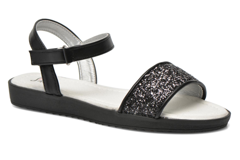 Sandales et nu-pieds I Love Shoes Supaillettes Noir vue détail/paire
