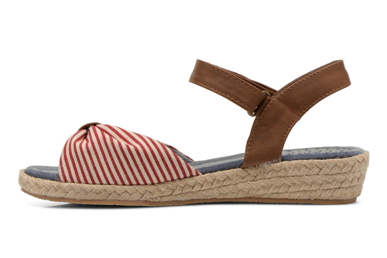 Sandales et nu-pieds I Love Shoes Sudrira Rouge vue face