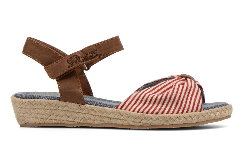Sandales et nu-pieds I Love Shoes Sudrira Rouge vue derrière