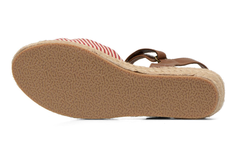 Sandales et nu-pieds I Love Shoes Sudrira Rouge vue haut