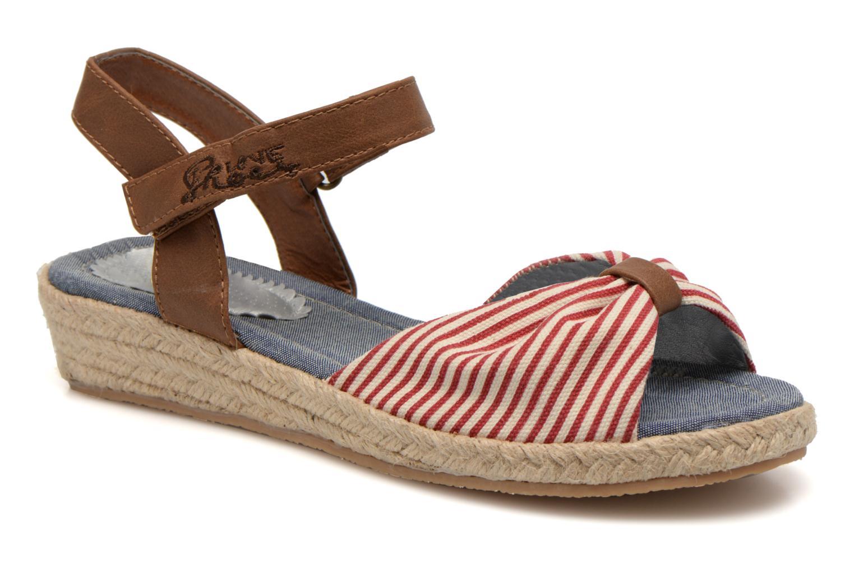 Sandales et nu-pieds I Love Shoes Sudrira Rouge vue détail/paire