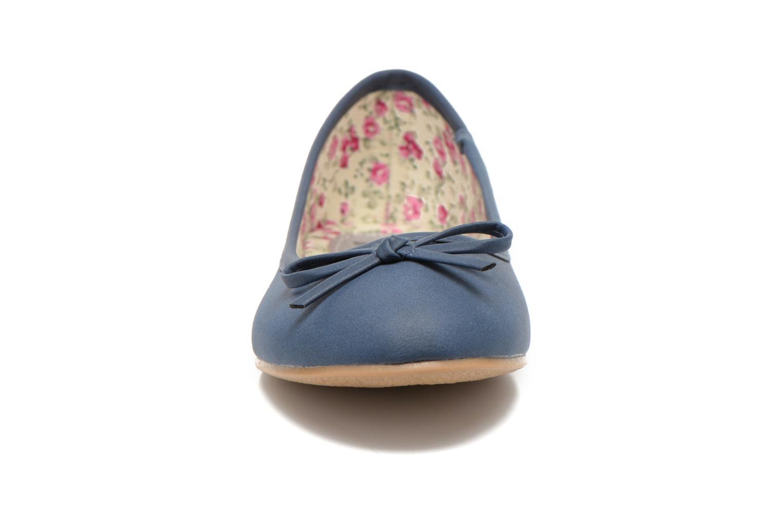 Ballerinas I Love Shoes Sufllatina blau schuhe getragen