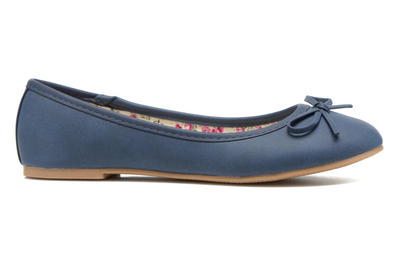 Ballerinas I Love Shoes Sufllatina blau ansicht von hinten