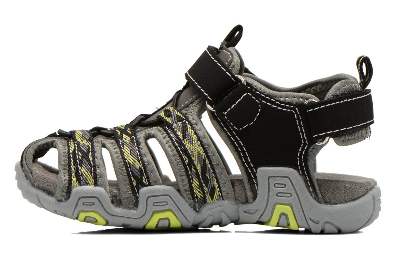 Sandales et nu-pieds I Love Shoes Sulivo Noir vue face