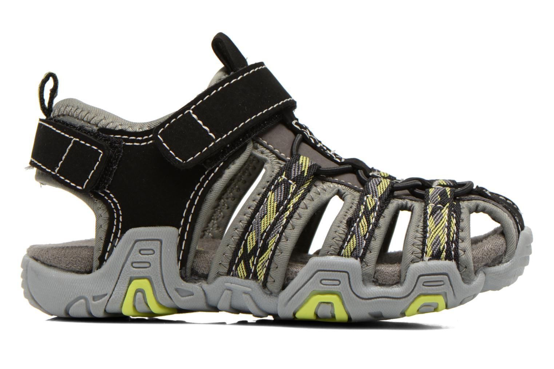 Sandales et nu-pieds I Love Shoes Sulivo Noir vue derrière