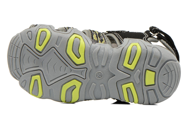 Sandales et nu-pieds I Love Shoes Sulivo Noir vue haut