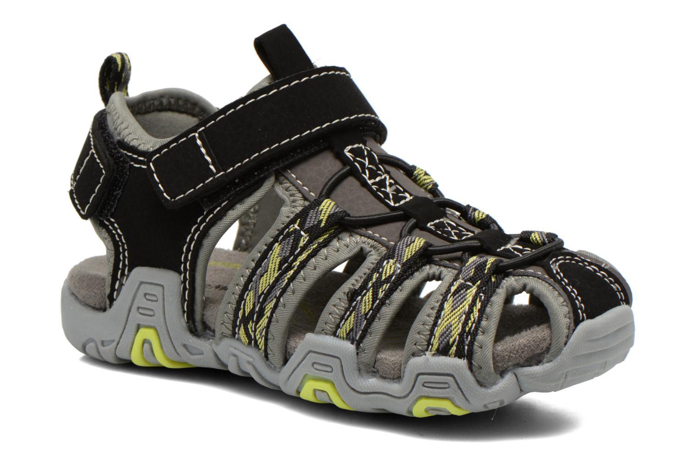 Sandales et nu-pieds I Love Shoes Sulivo Noir vue détail/paire