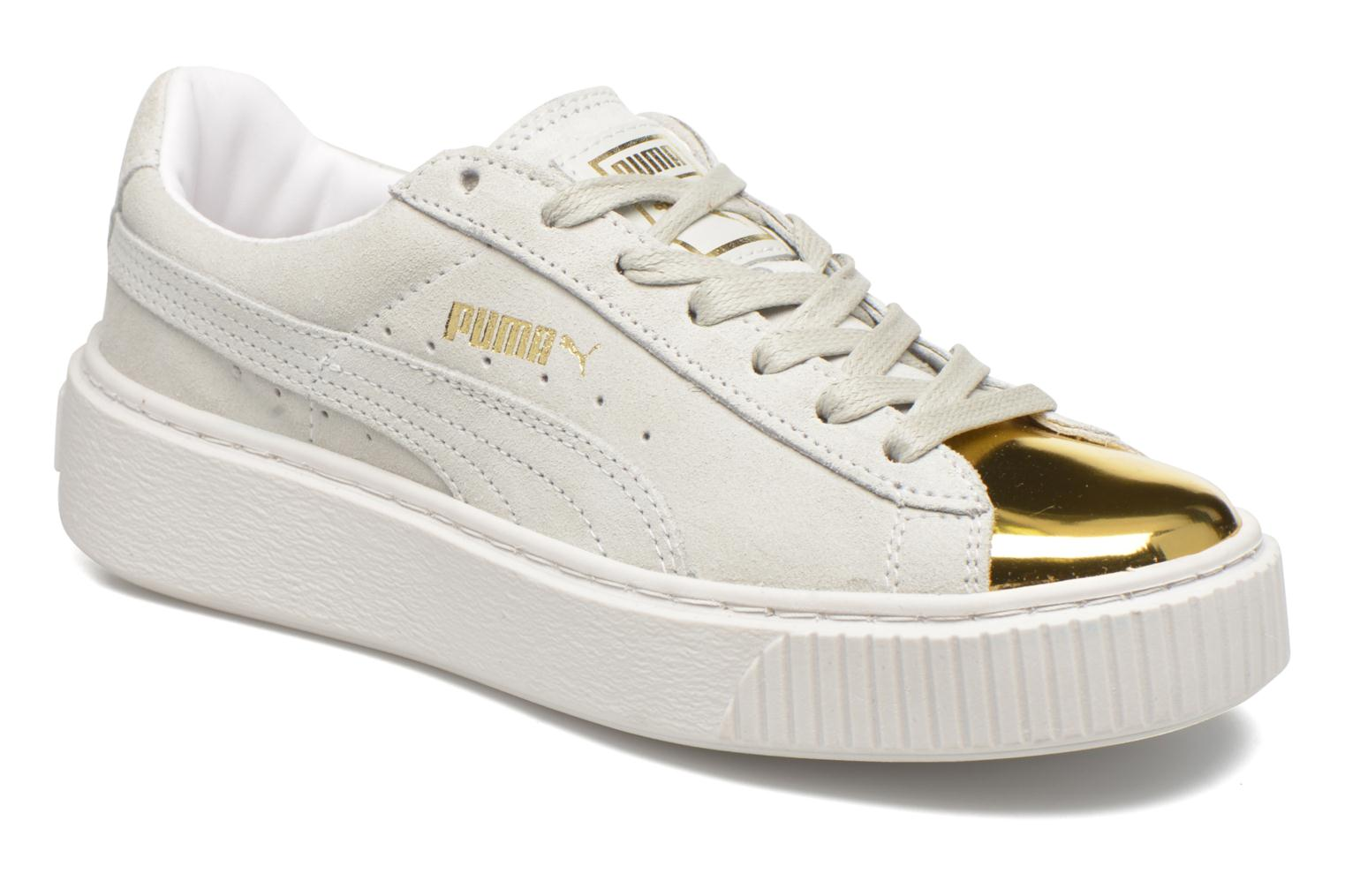 WNS Suede Creepers Gold/White