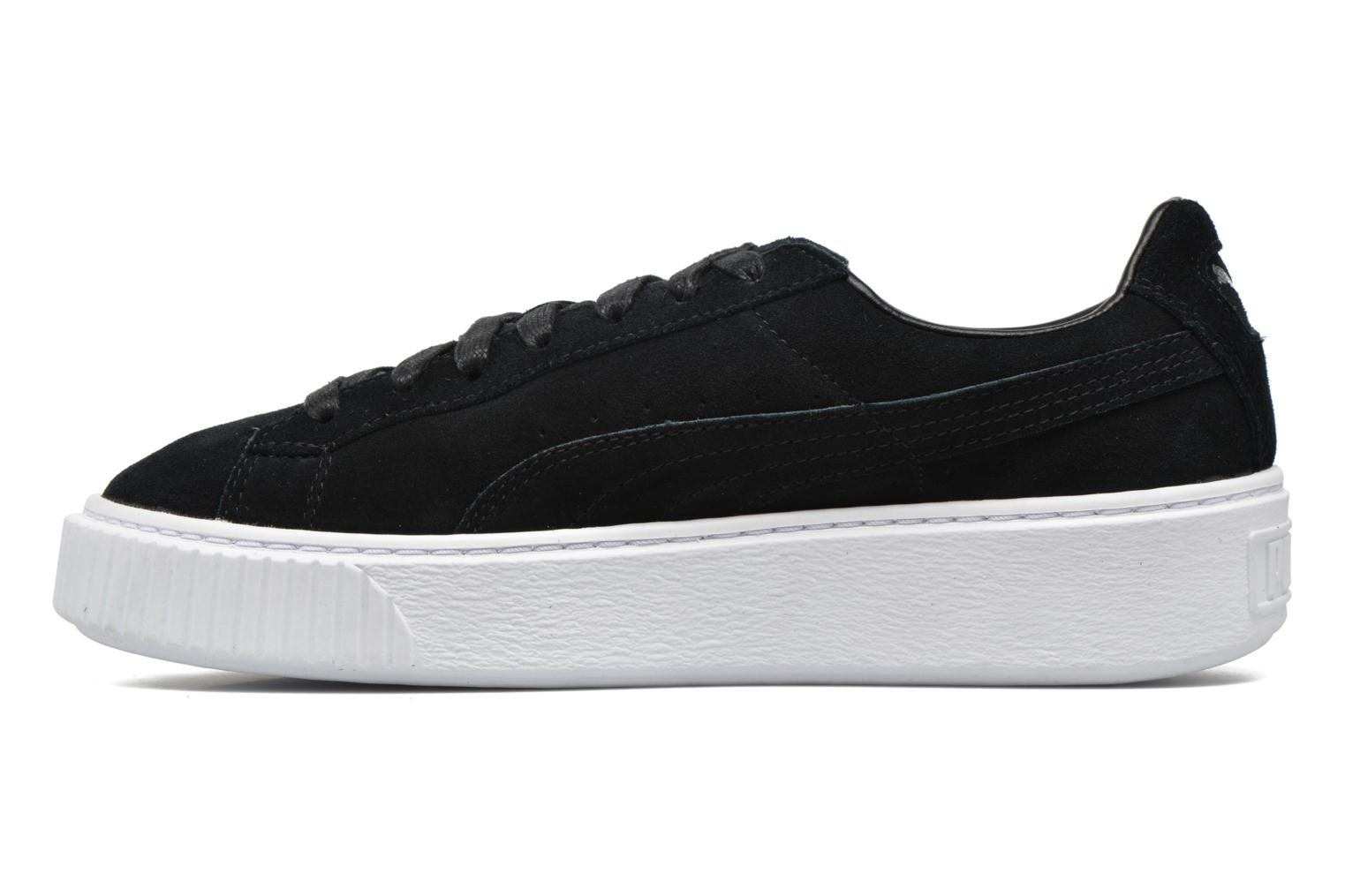 Baskets Puma WNS Suede Creepers Noir vue face