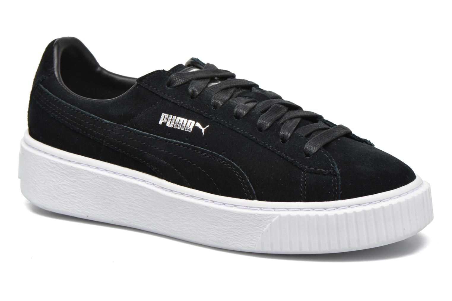 WNS Suede Creepers Black