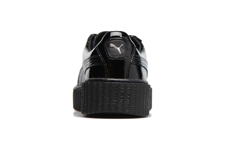 Baskets Puma WNS Suede Creepers Noir vue droite