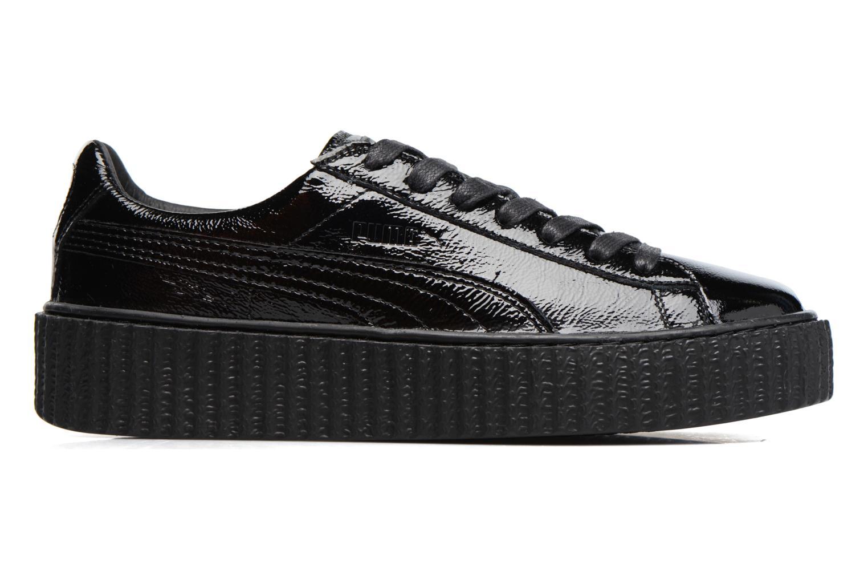 Baskets Puma WNS Suede Creepers Noir vue derrière