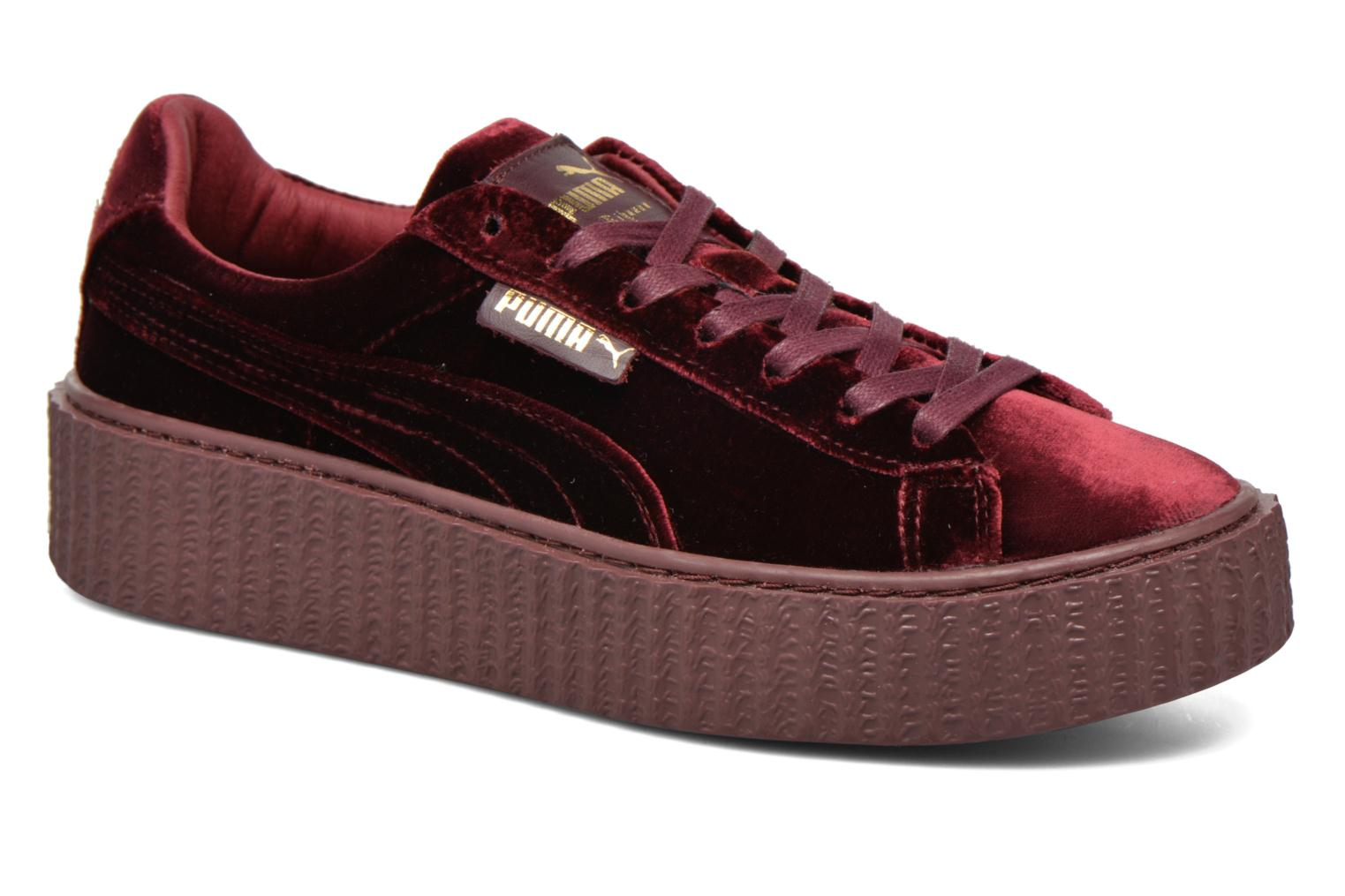 puma creepers bordeaux