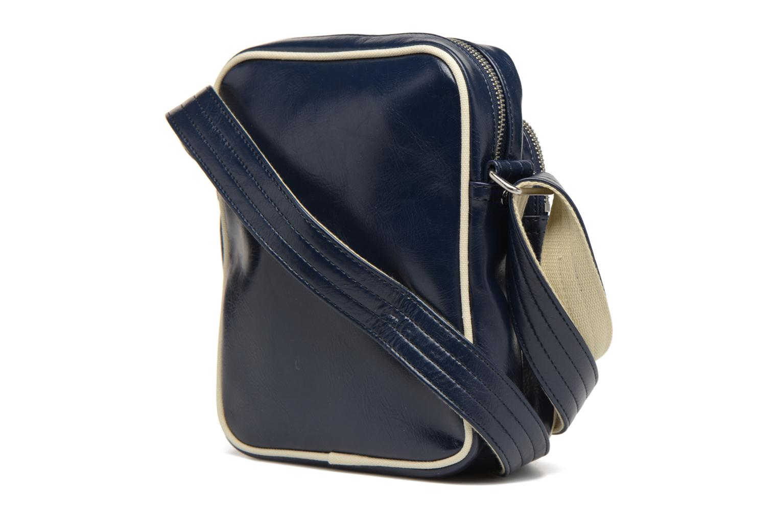 Sacs homme Fred Perry Classic side bag Bleu vue droite