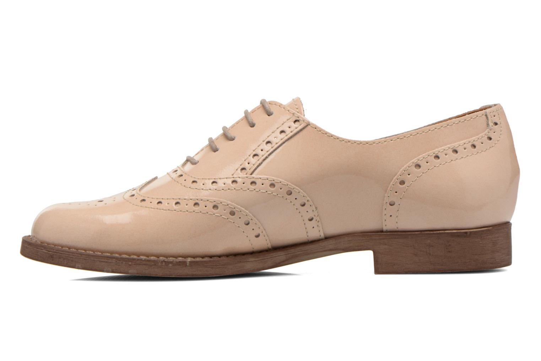 Chaussures à lacets Esprit Aida Lace Up Beige vue face
