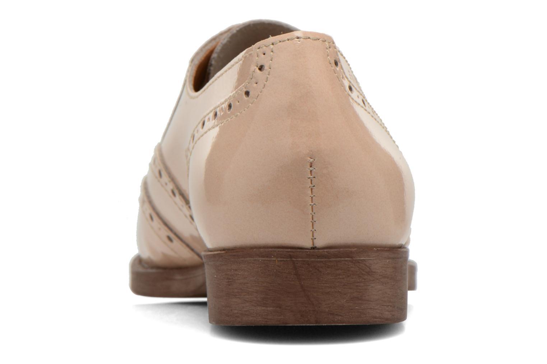 Chaussures à lacets Esprit Aida Lace Up Beige vue droite