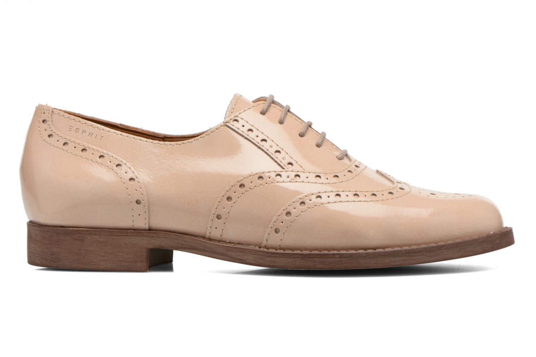 Chaussures à lacets Esprit Aida Lace Up Beige vue derrière