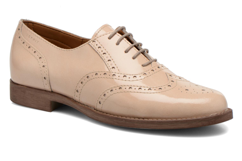 Chaussures à lacets Esprit Aida Lace Up Beige vue détail/paire