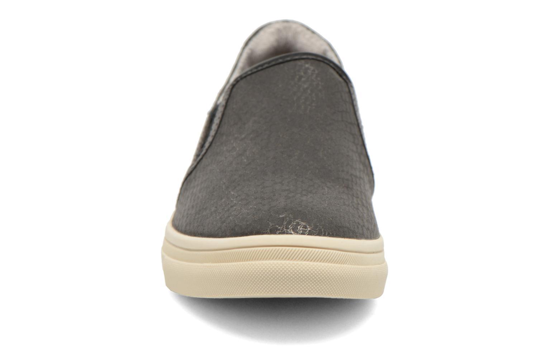 Baskets Esprit Yendis Slip on 009 Noir vue portées chaussures