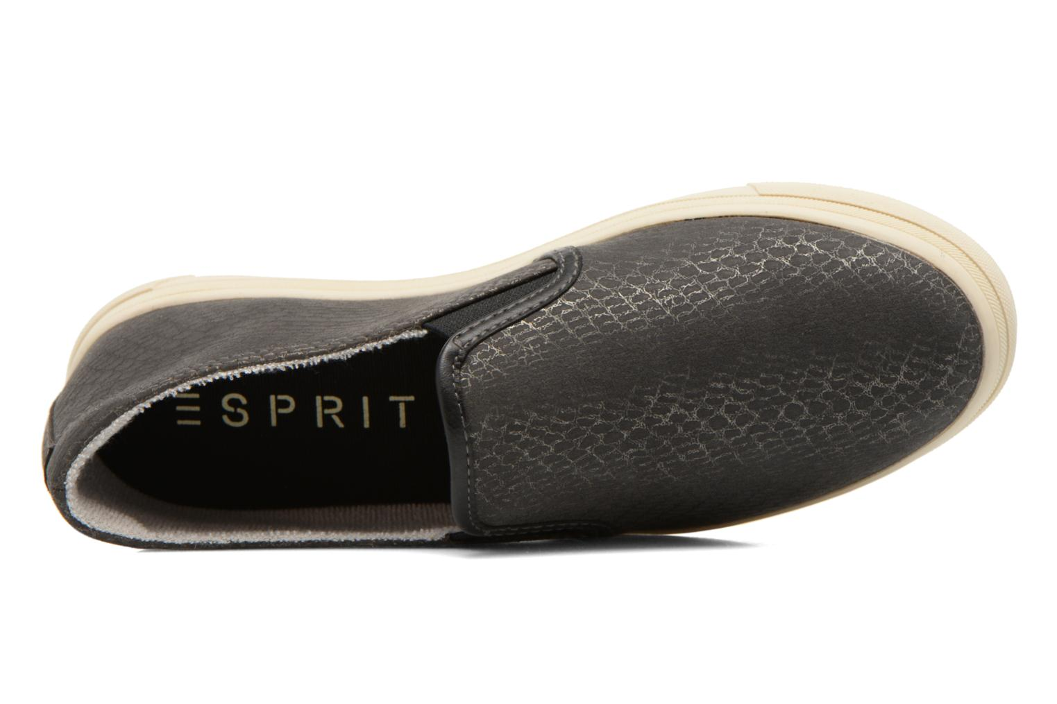 Trainers Esprit Yendis Slip on 009 Black view from the left