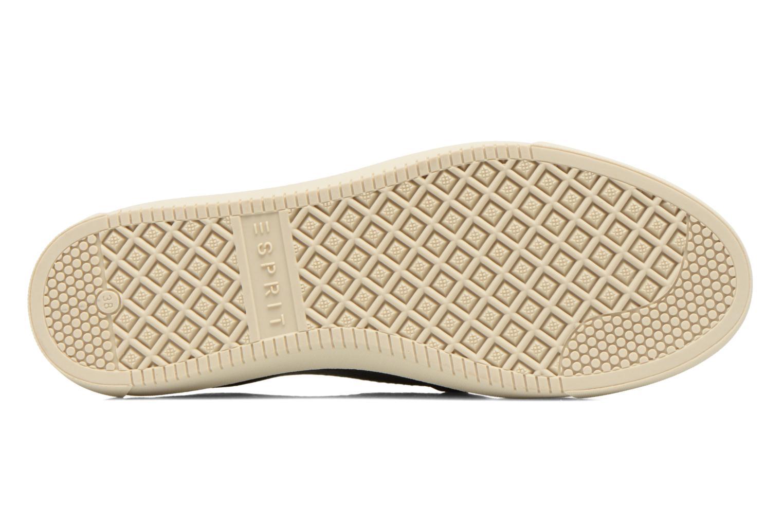 Sneaker Esprit Yendis Slip on 009 schwarz ansicht von oben