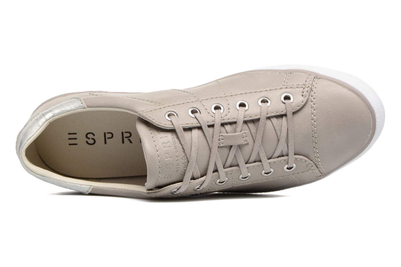 Sneakers Esprit Miana Lace Up Grigio immagine sinistra