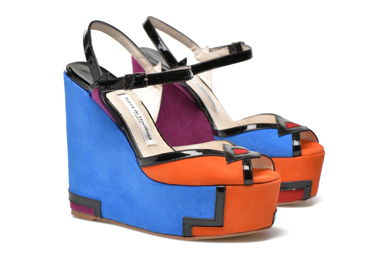 Sandales et nu-pieds Terry de Havilland JACQUETTA Multicolore vue 3/4