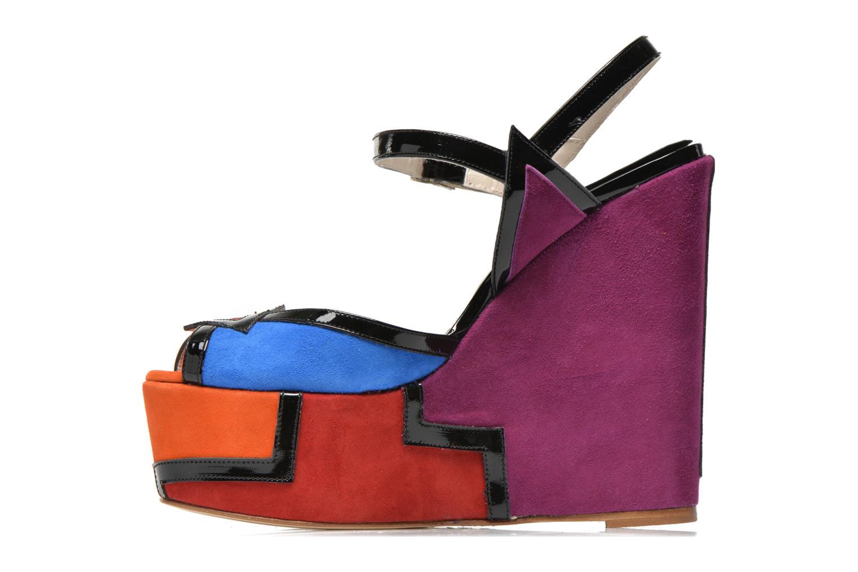 Sandales et nu-pieds Terry de Havilland JACQUETTA Multicolore vue face