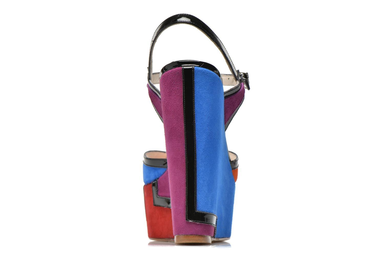 Sandales et nu-pieds Terry de Havilland JACQUETTA Multicolore vue droite