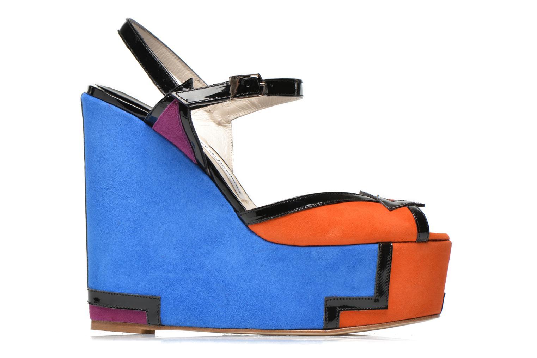 Sandales et nu-pieds Terry de Havilland JACQUETTA Multicolore vue derrière