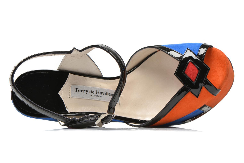 Sandales et nu-pieds Terry de Havilland JACQUETTA Multicolore vue gauche