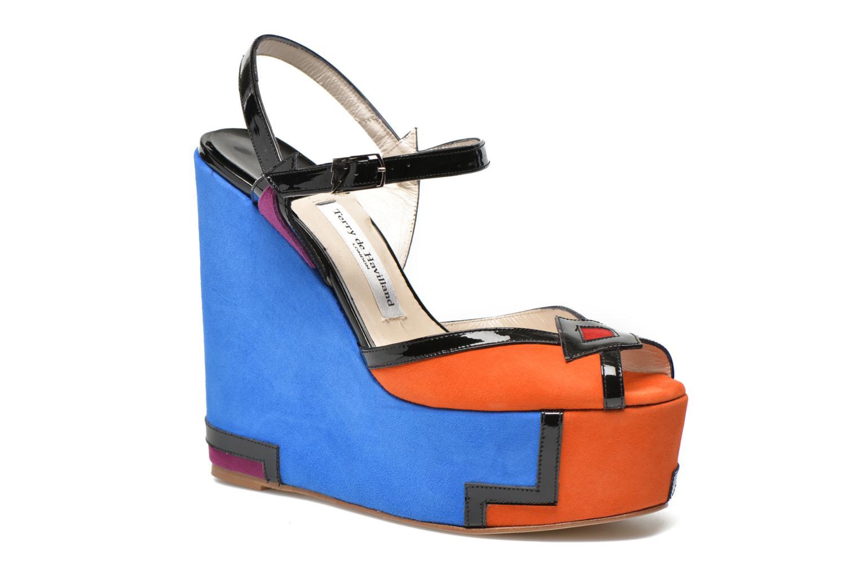 Sandals Terry de Havilland JACQUETTA Multicolor detailed view/ Pair view