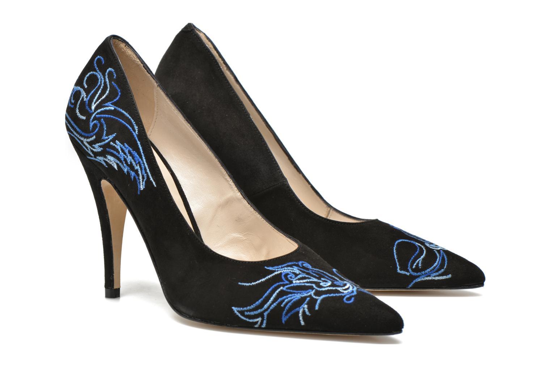 Zapatos de tacón Terry de Havilland DRAGON STILETTO Negro vista 3/4