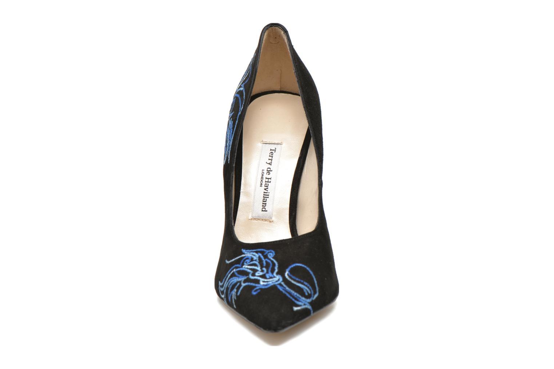 Zapatos de tacón Terry de Havilland DRAGON STILETTO Negro vista del modelo